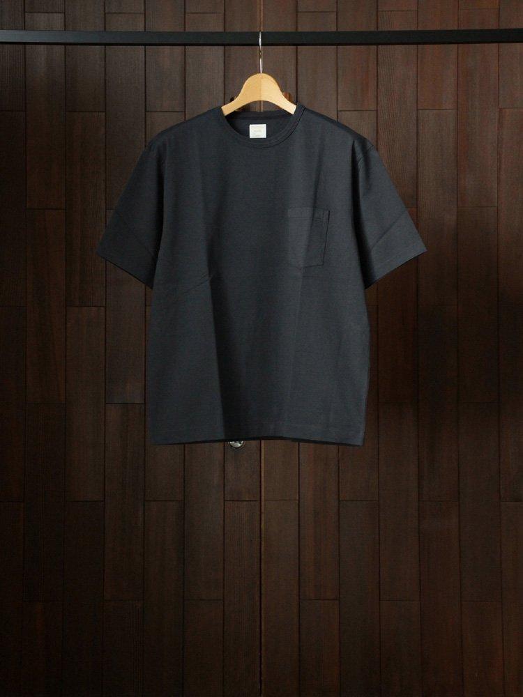 Phlannel|Cotton Open-end Yarn T-shirt #Deep Gray