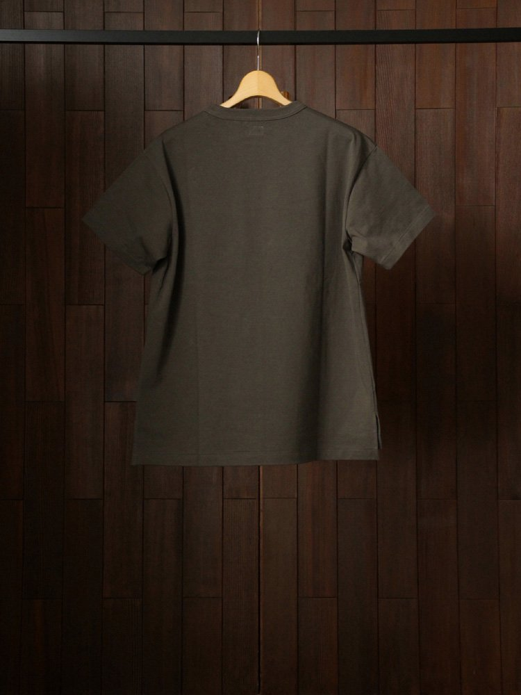 OLD ATHLETIC SS TOP #SEPIA GRAY<img class='new_mark_img2' src='https://img.shop-pro.jp/img/new/icons22.gif' style='border:none;display:inline;margin:0px;padding:0px;width:auto;' />