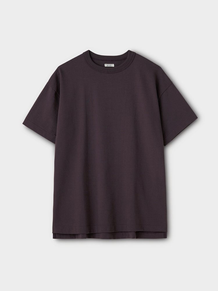 PHIGVEL MAKERS & Co.|OLD ATHLETIC SS TOP #PURPLE BROWN