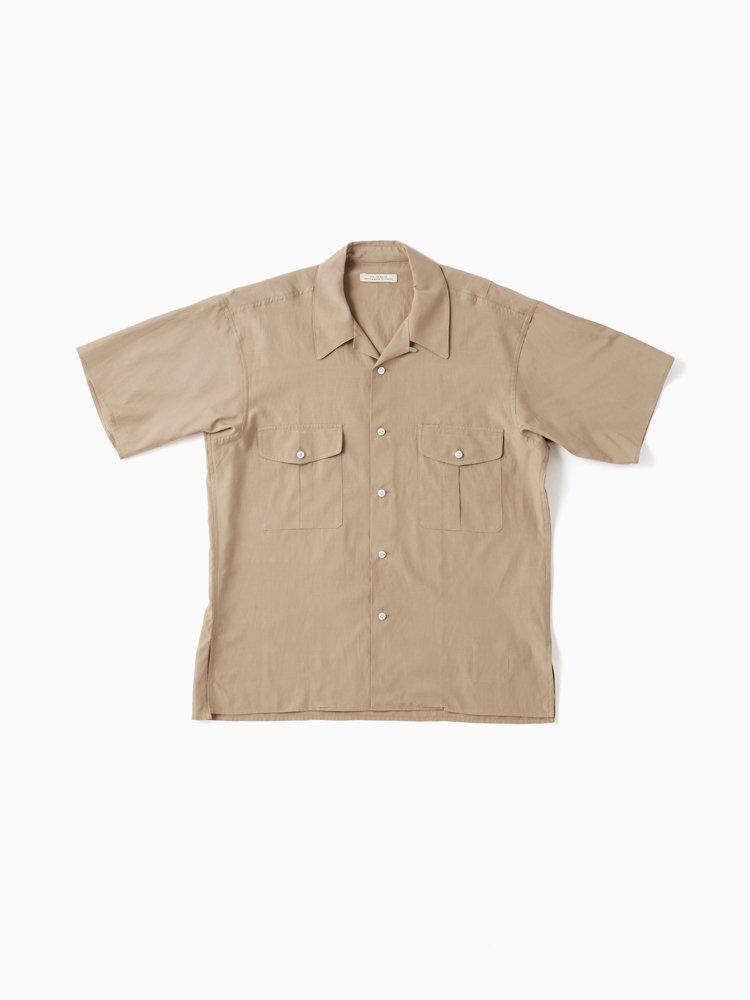 TOP NOTCH UNIFORM SHIRTS_short sleeve #DUNE