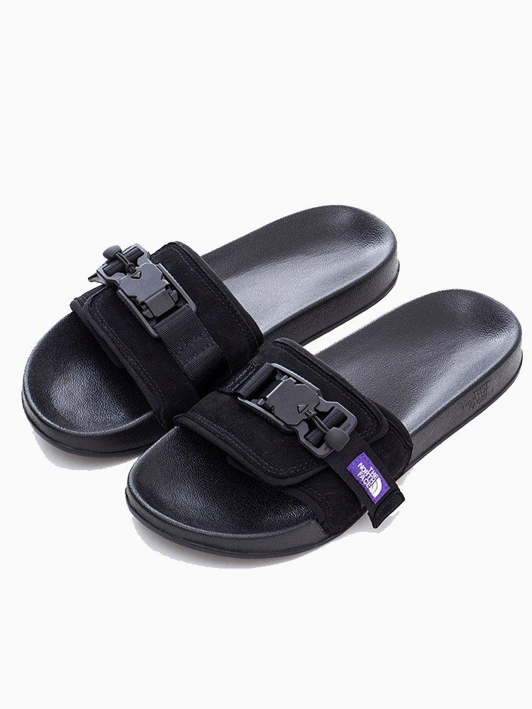 THE NORTH FACE PURPLE LABEL|Leather Sandal #Black