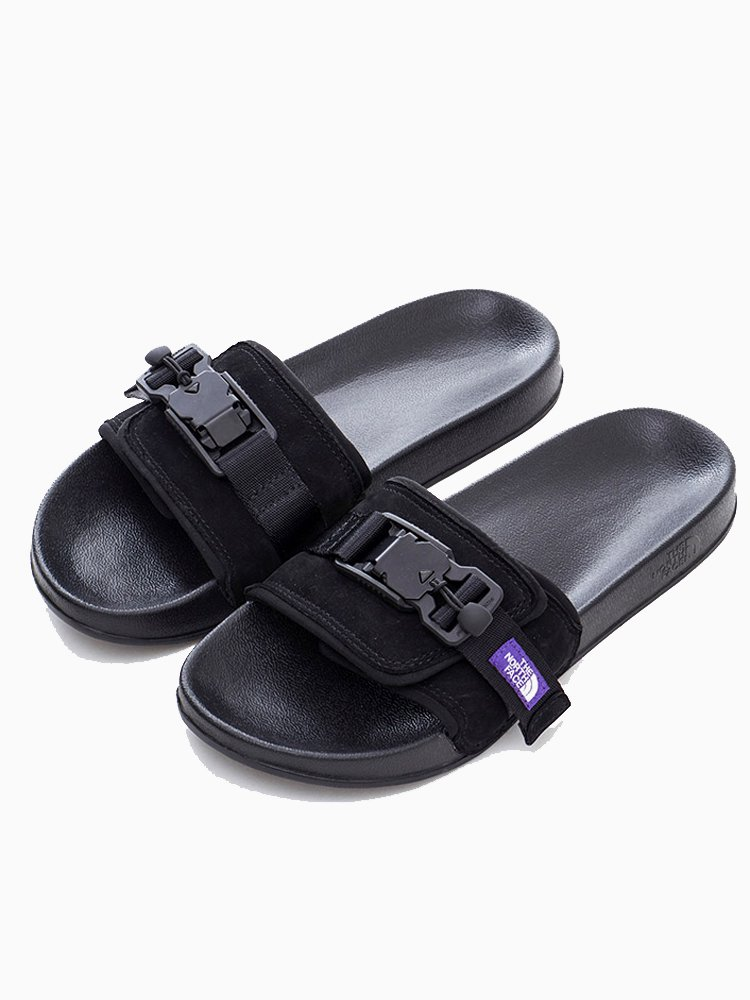 Leather Sandal #Black