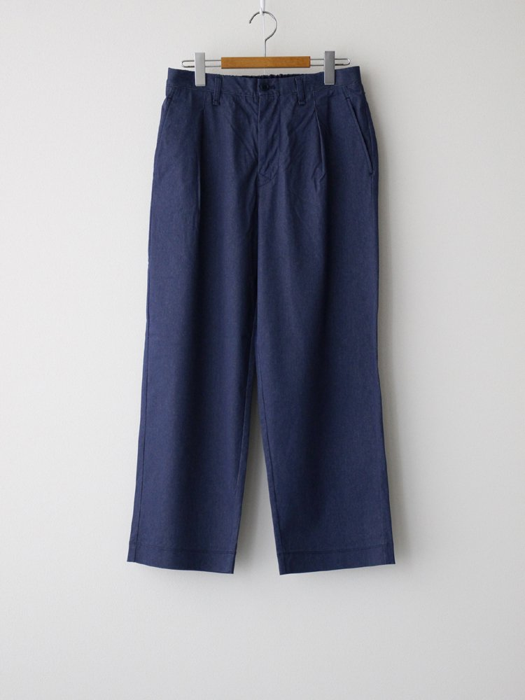 CURLY|ARDWICK WIDE TROUSERS #DENIM NAVY