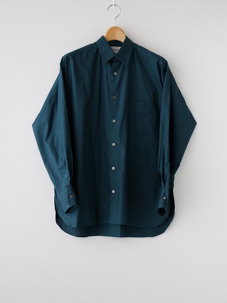 MARKAWARE|COMFORT FIT SHIRT #PETROLEUM BLUE