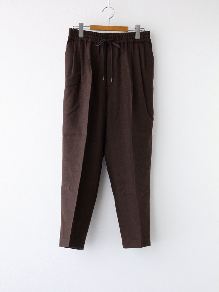 marka|3TUCK TAPERED FIT EASY #TOP BROWN