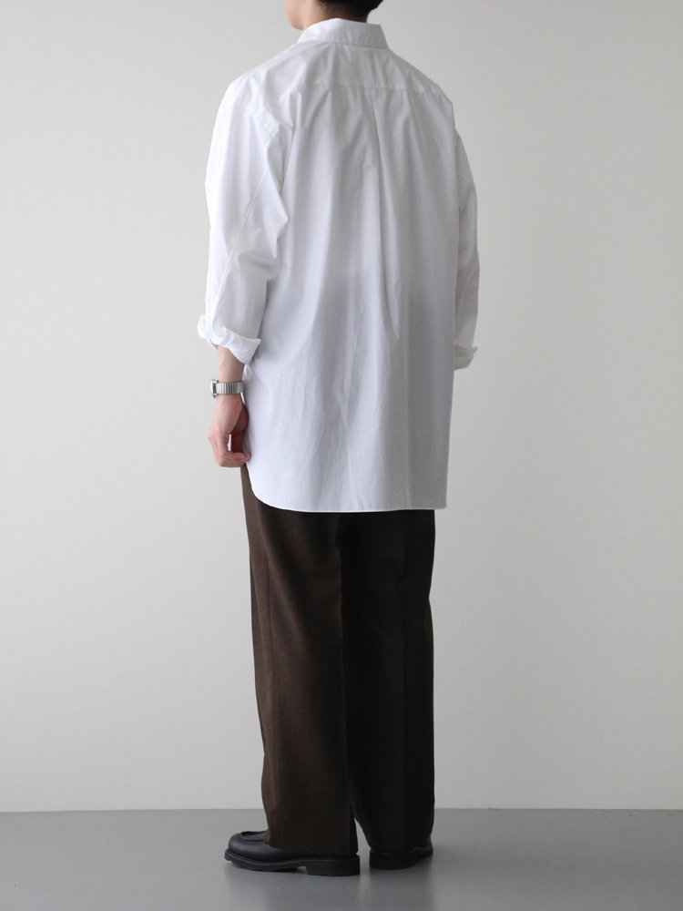 2TUCK COCOON FIT #TOP BROWN