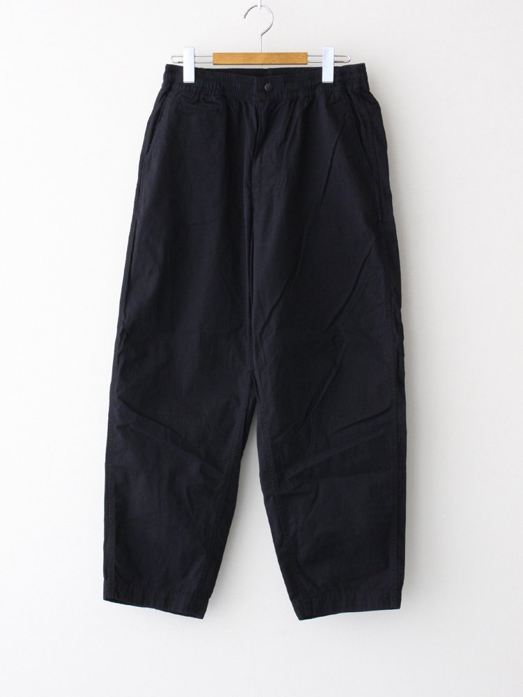 THE NORTH FACE PURPLE LABEL RIPSTOP SHIRRED WAIST PANTS #BLACK [NT5054N]