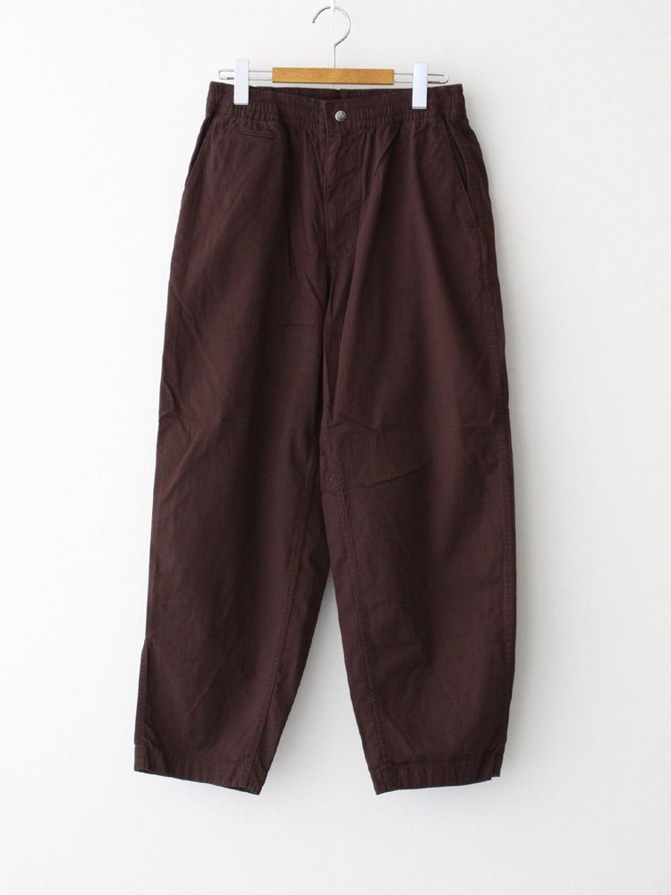 THE NORTH FACE PURPLE LABEL|RIPSTOP SHIRRED WAIST PANTS #BROWN [NT5054N]