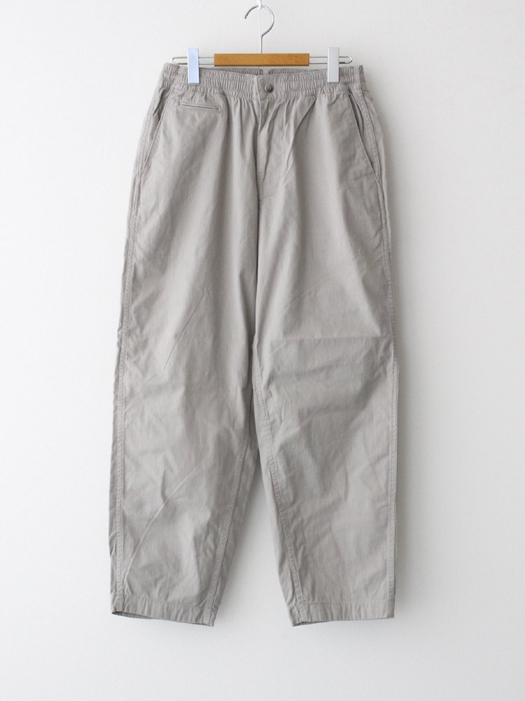 THE NORTH FACE PURPLE LABEL|RIPSTOP SHIRRED WAIST PANTS #LIGHT GRAY [NT5054N]