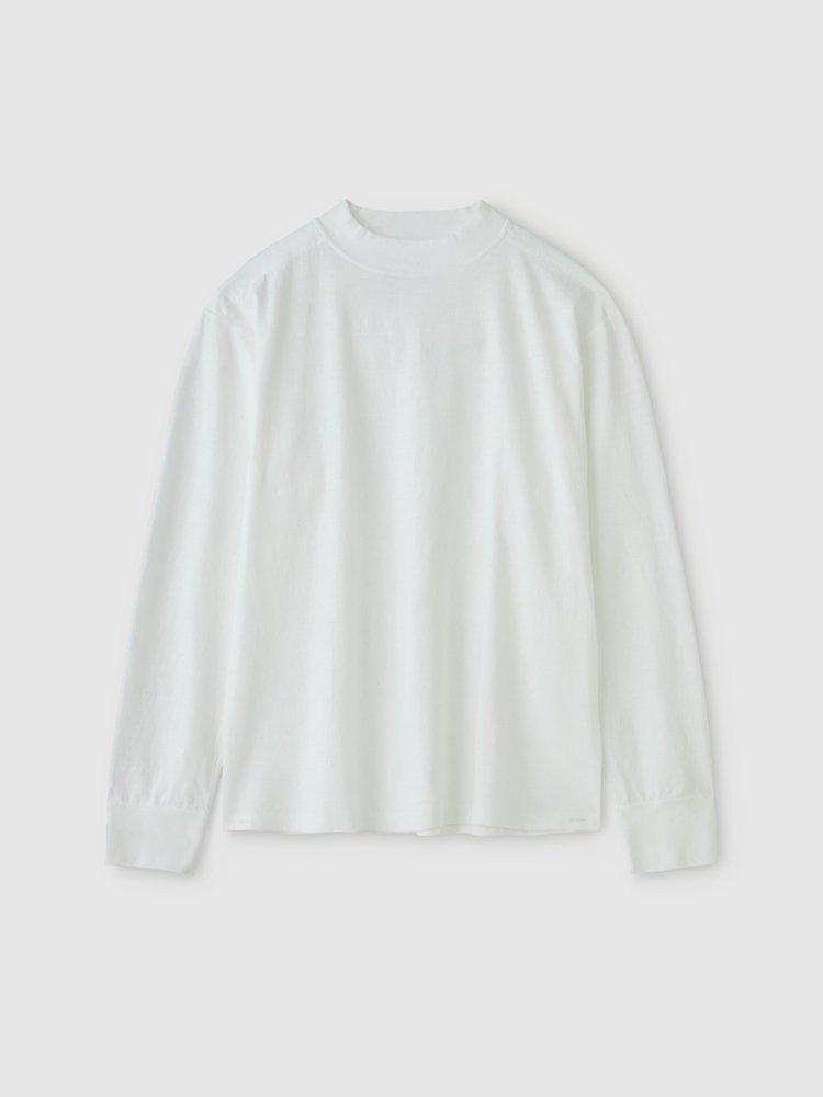 PHIGVEL MAKERS & Co.|HIGHNECK LS TEE #OFF WHITE [PM-VTGT05 ]
