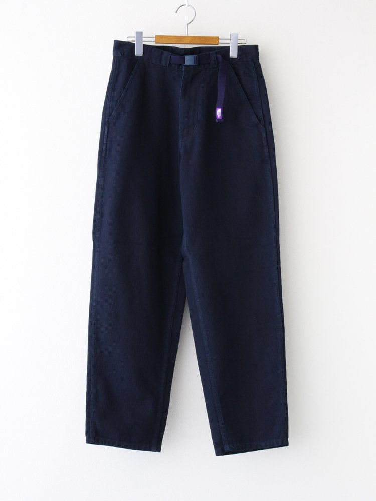 THE NORTH FACE PURPLE LABEL|PIQUE DENIM FIELD PANTS #INDIGO [NT5056N]