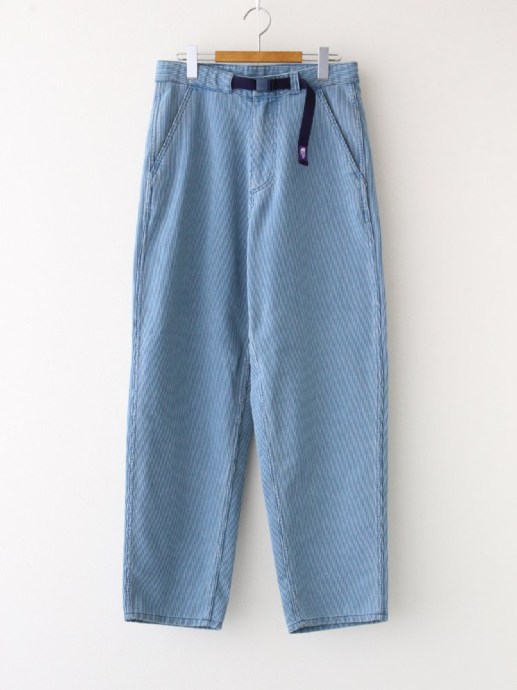 THE NORTH FACE PURPLE LABEL|PIQUE DENIM FIELD PANTS #INDIGO BLEACH [NT5056N]