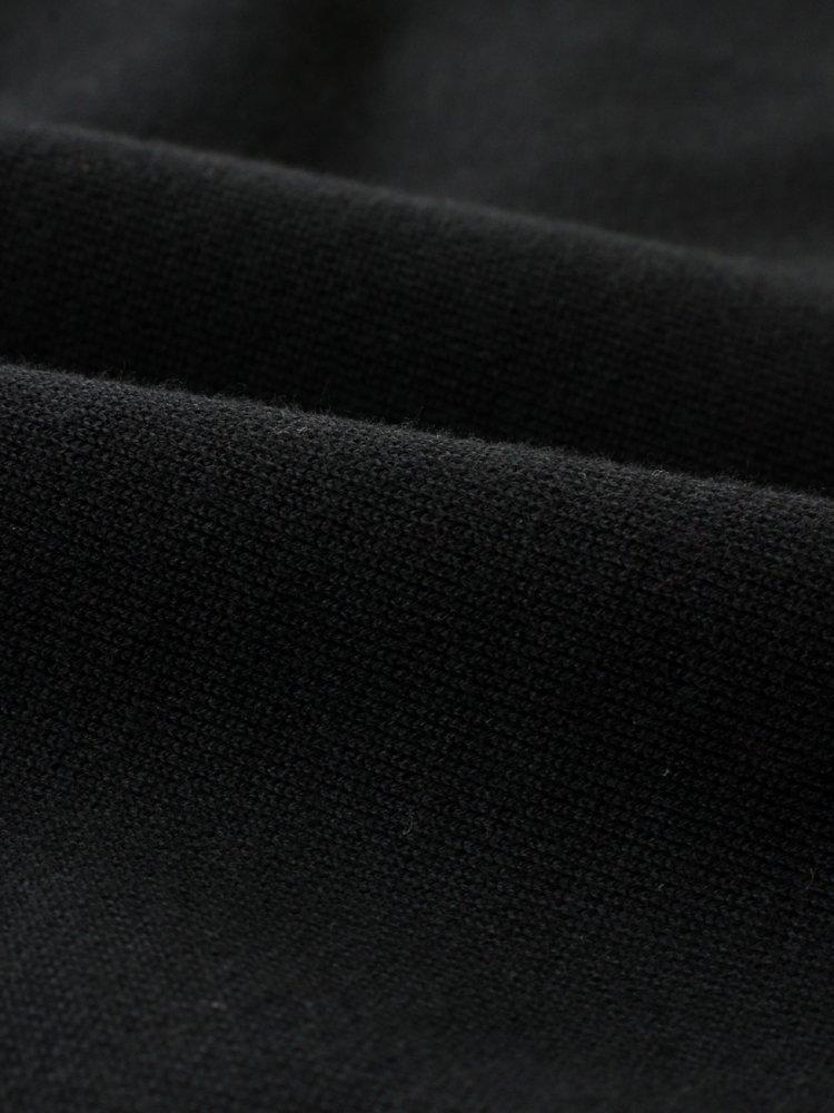 RERACS RAGLAN CREW NECK PO #BLACK [20FW-RECS-274-J]