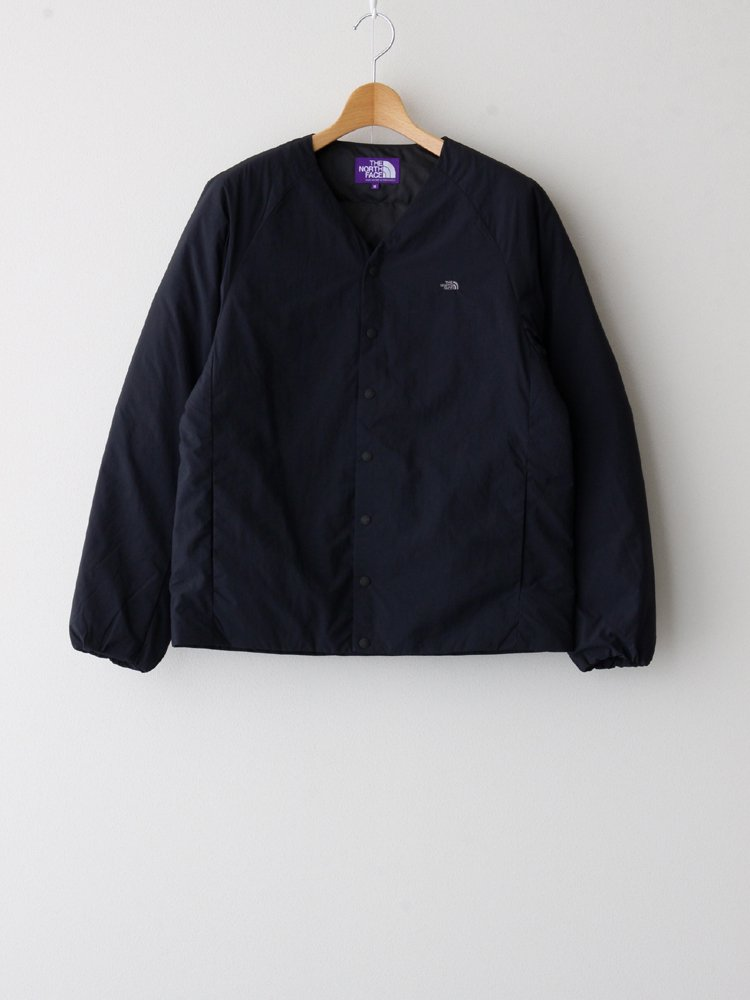 THE NORTH FACE PURPLE LABEL|DOWN CARDIGAN #BLACK [ND2059N ]