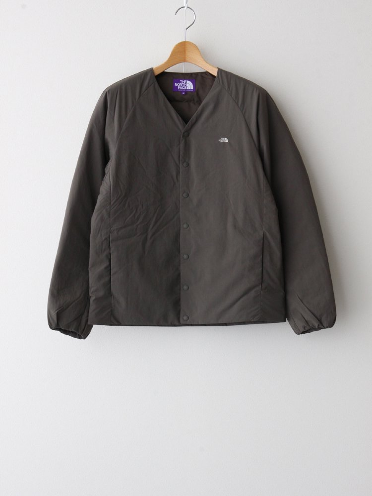 THE NORTH FACE PURPLE LABEL|DOWN CARDIGAN #BROWN [ND2059N ]