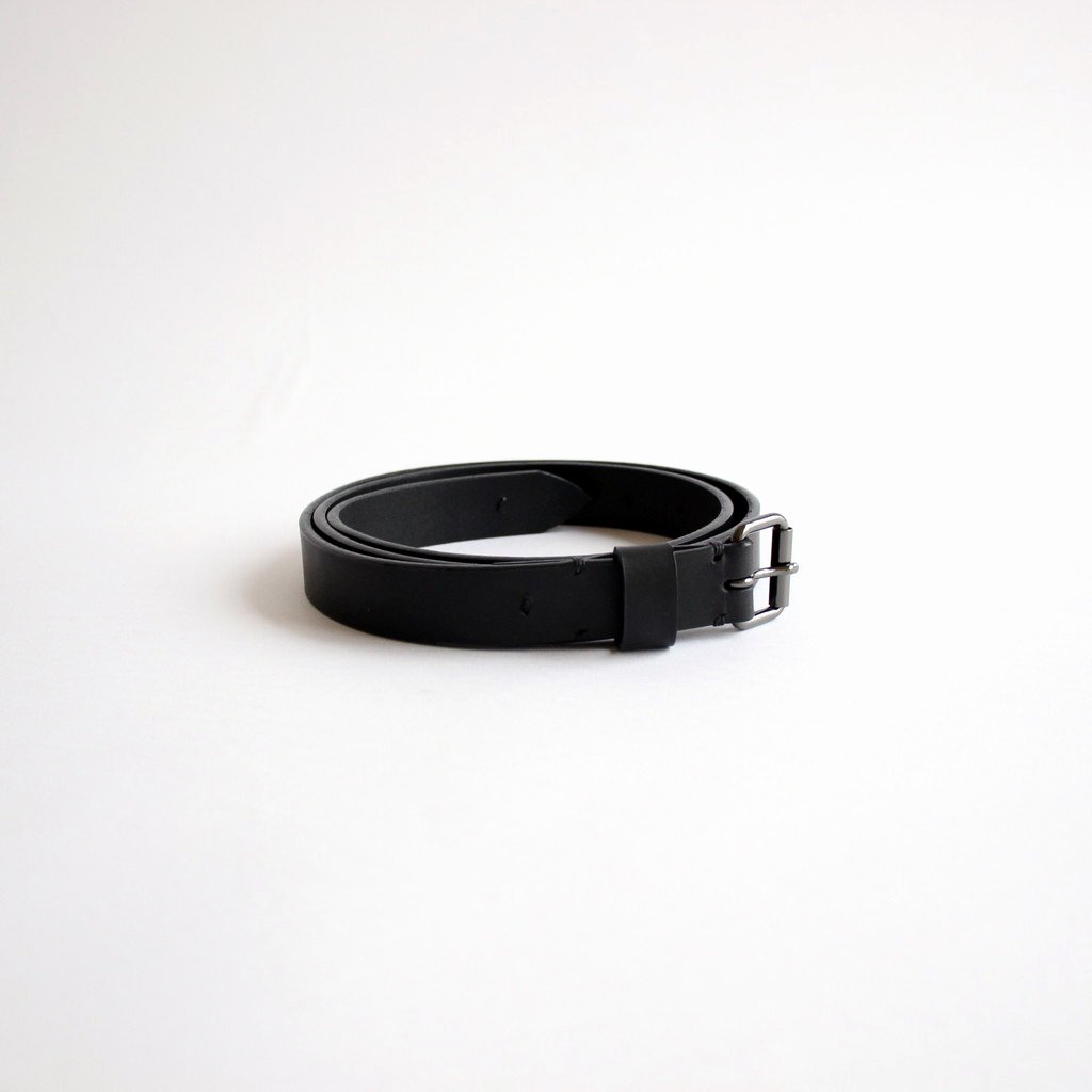 Phlannel| LEATHER BELT #BLACK [BBZ2002414A0001]