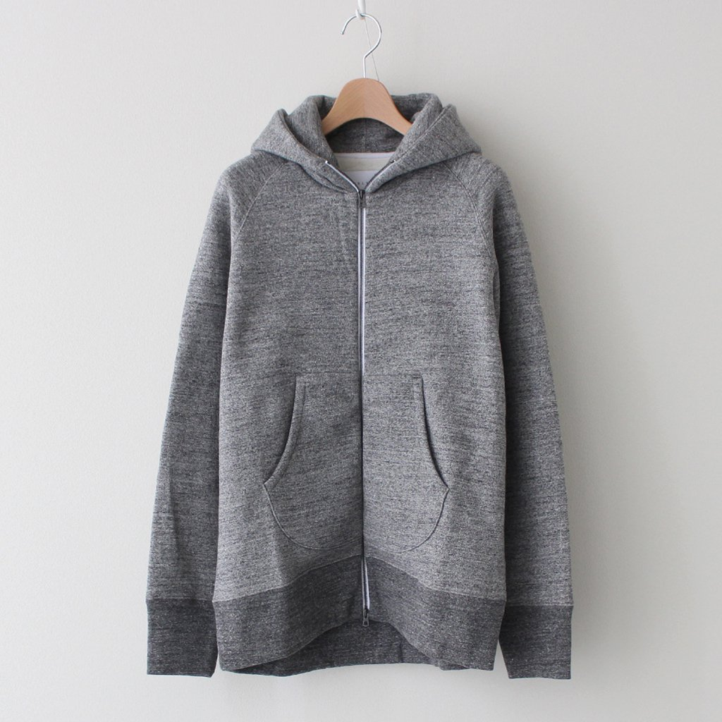 CURLY|RAFFY ZIP PARKA #CHARCOAL [203-33092R]