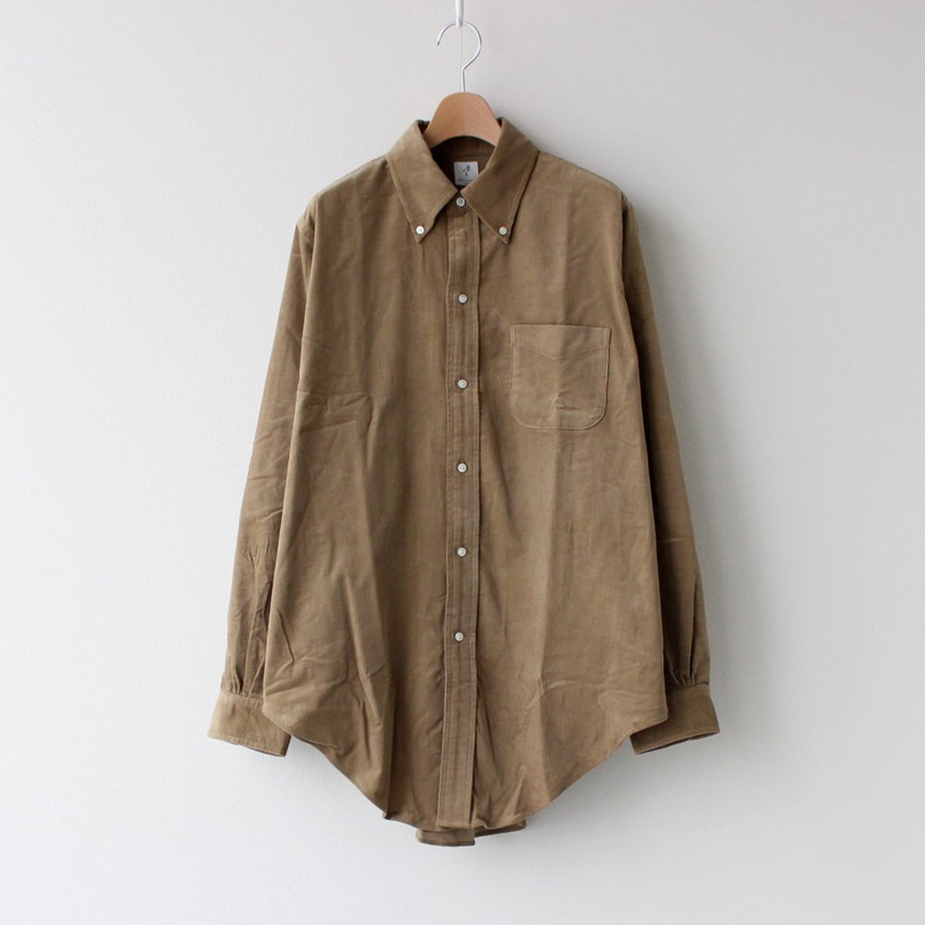 ANATOMICA|BD SHIRTS UK BABY CORDS #BEIGE