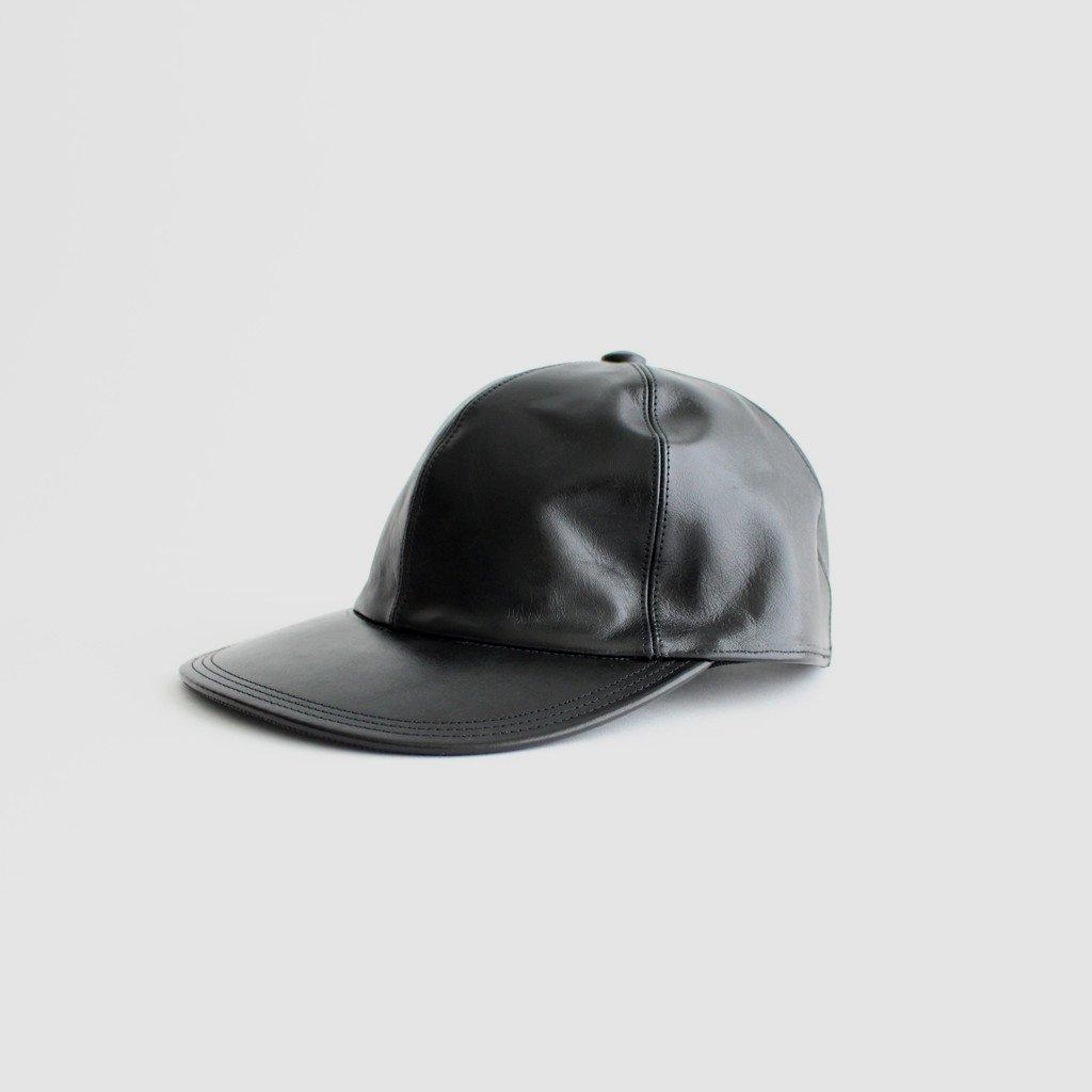 SOLARIS HATMAKERS & Co. COWHIDE CAP_CITYBOY #BLACK [20AW01006]