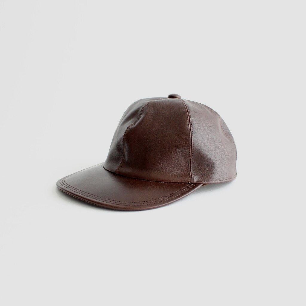 SOLARIS HATMAKERS & Co.|COWHIDE CAP_CITYBOY #BROWN [20AW01006]