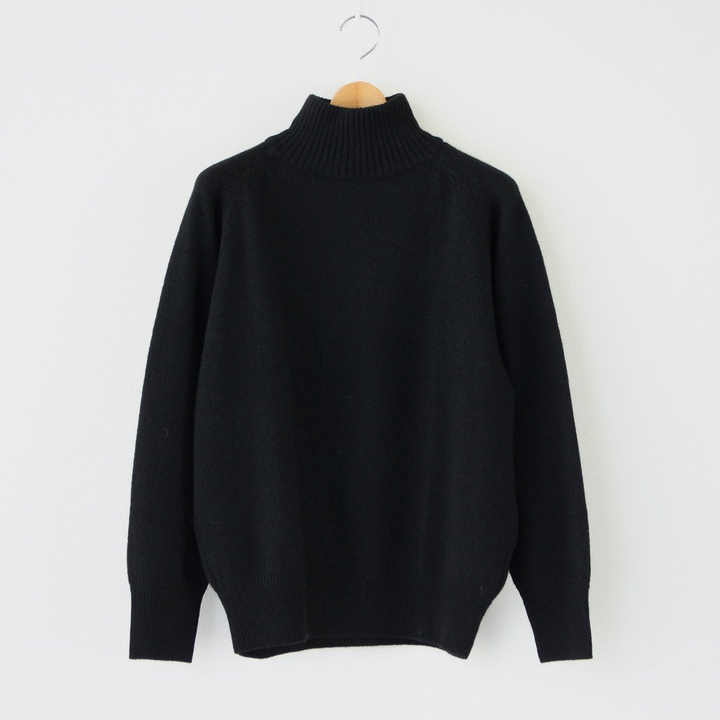 Phlannel|YAK WOOL KNIT #BLACK [BBZ2002505A0004]