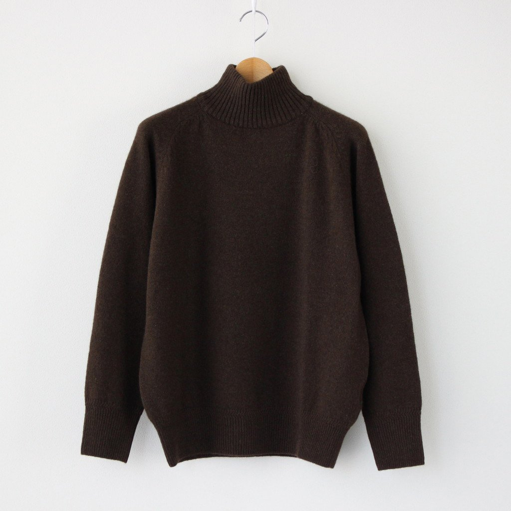 Phlannel|YAK WOOL KNIT #NATURAL BROWN [BBZ2002505A0004]