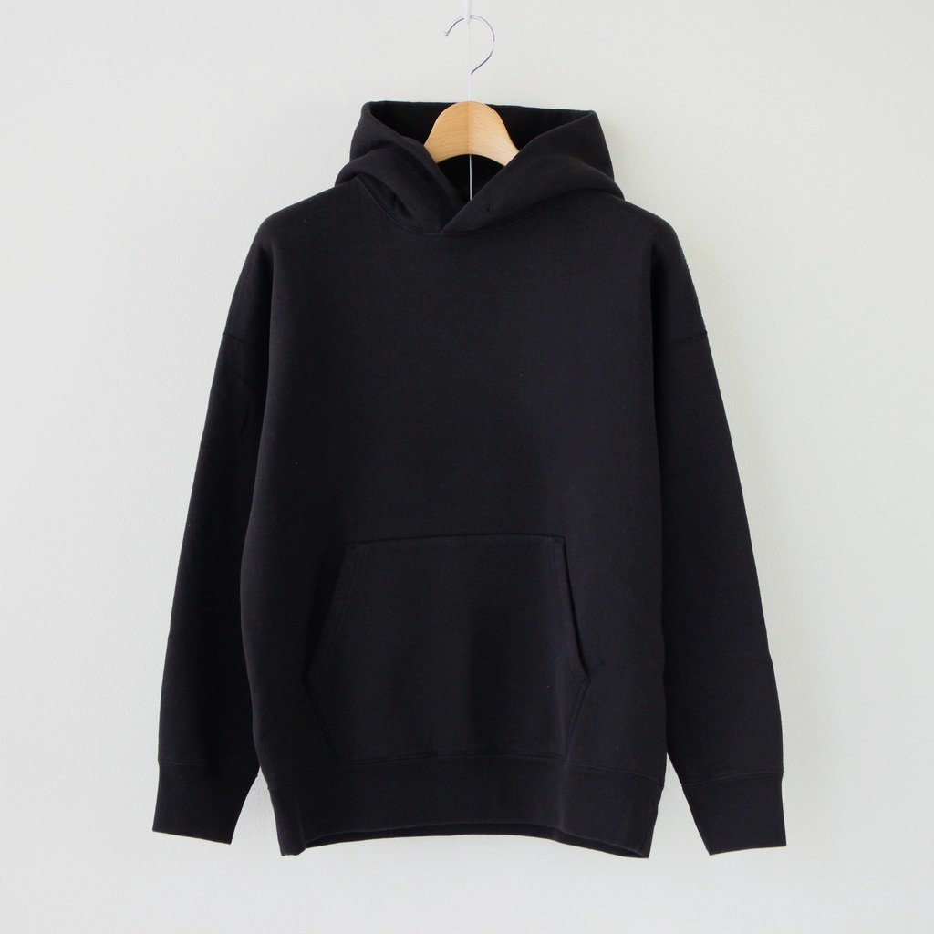 Phlannel|COTTON YAK HOODIE #DEEP BLACK [BBZ2002506A0001]