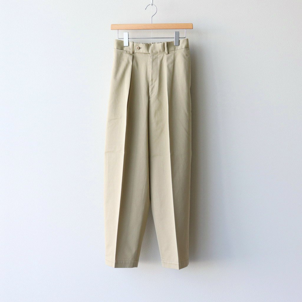 MARKAWARE|NEW CLASSIC FIT TROUSERS #SAND [A20D-04PT01C]