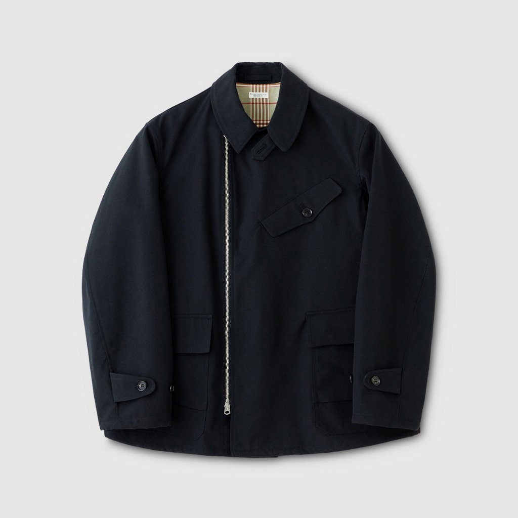PHIGVEL MAKERS & Co.|OLD HUNTING JACKET #INK BLACK [PMAK-OT06]