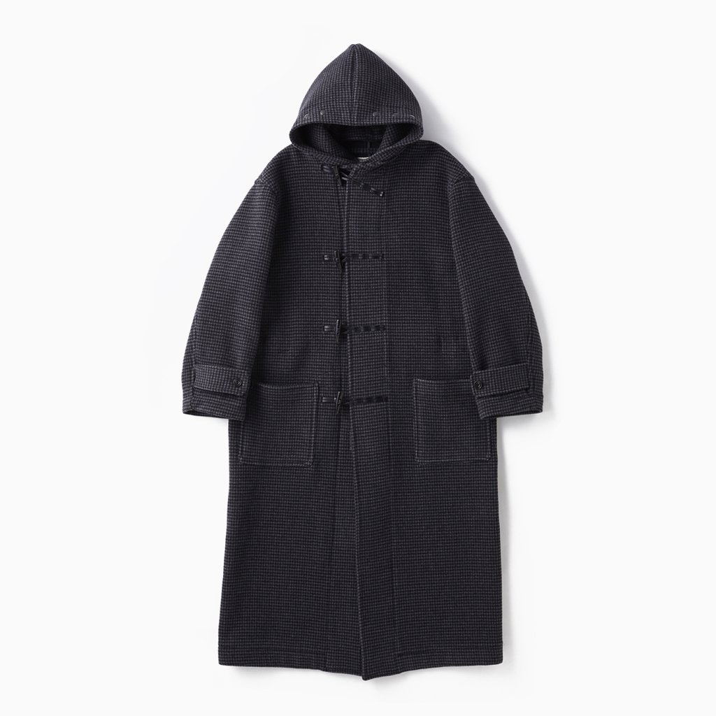 OLD JOE BRAND|HOODED WATCH COAT #HOUNDSTOOTH [202OJ-JK03]