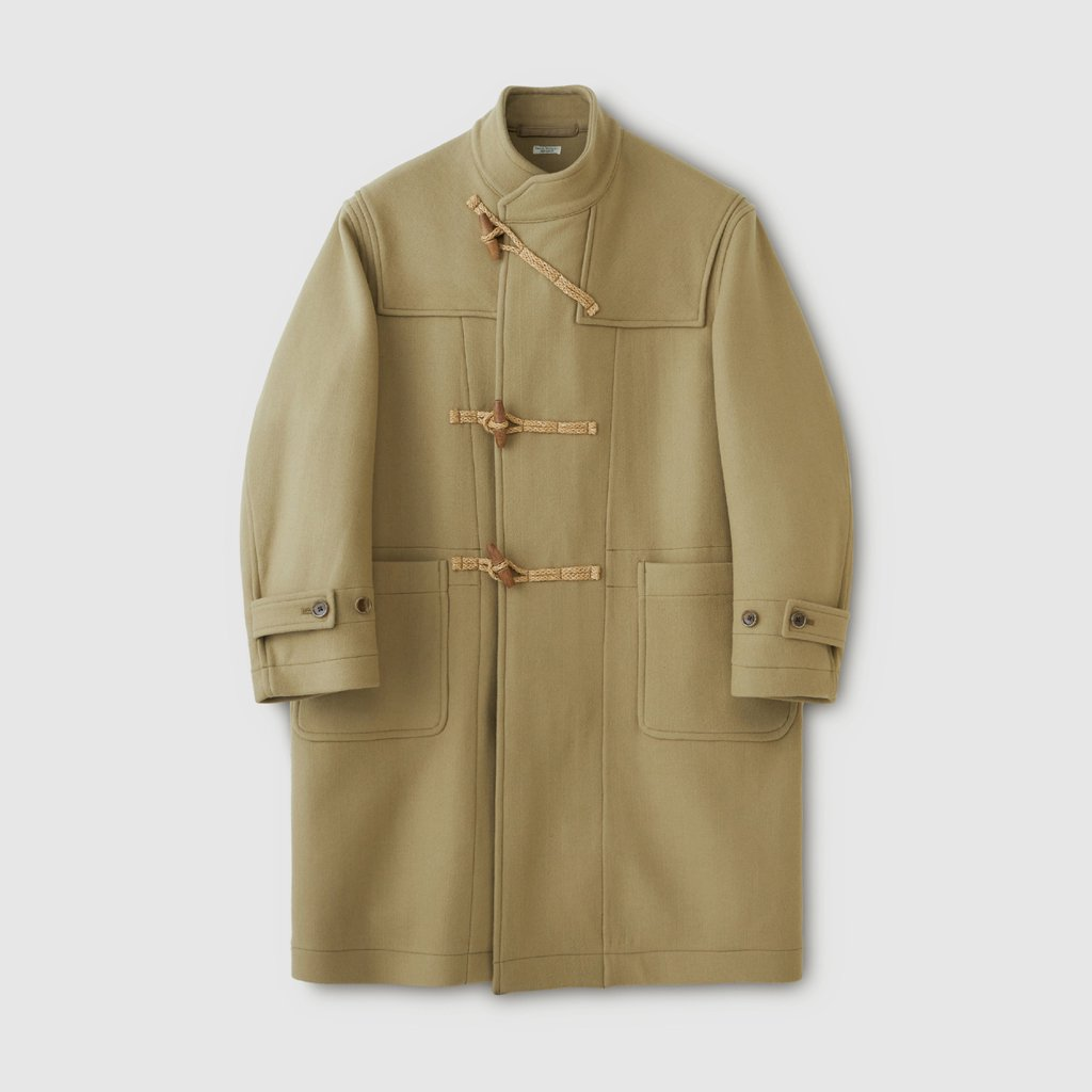 PHIGVEL MAKERS & Co.|NAVAL DUFFLE COAT #SMOKE BEIGE [PMAK-OT04]