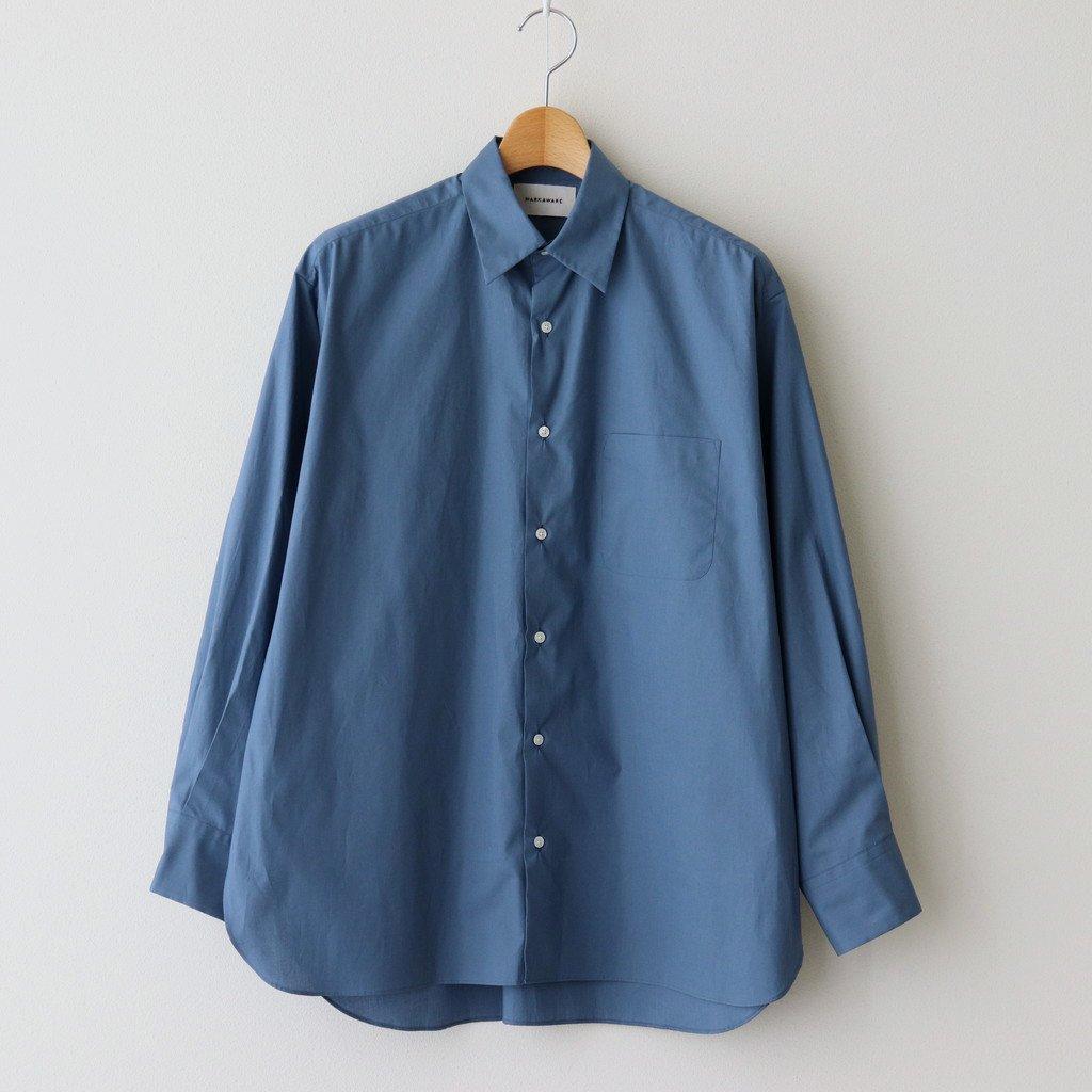 MARKAWARE|COMFORT FIT SHIRT #PULL CYAN BLUE [A21A-07SH01C]