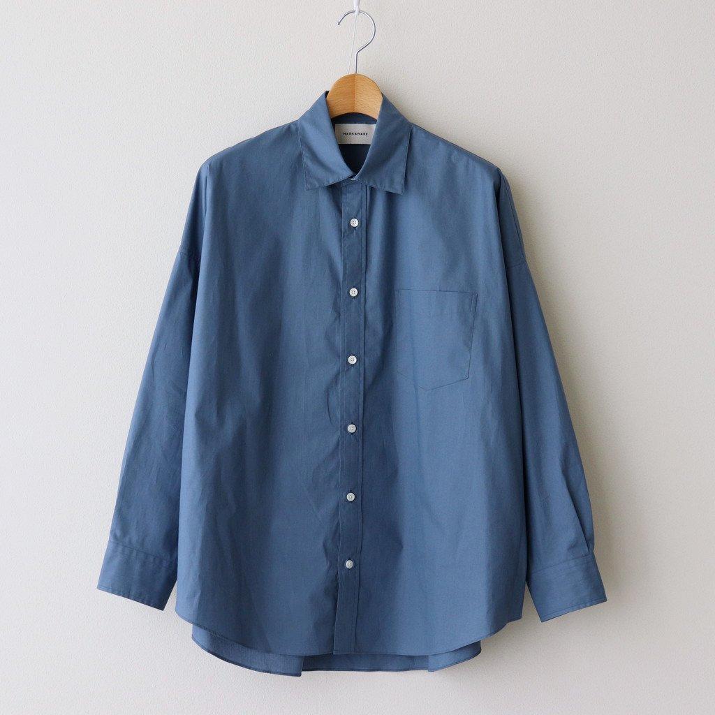 MARKAWARE|TENT SHIRT #PULL CYAN BLUE [A21A-07SH02C]