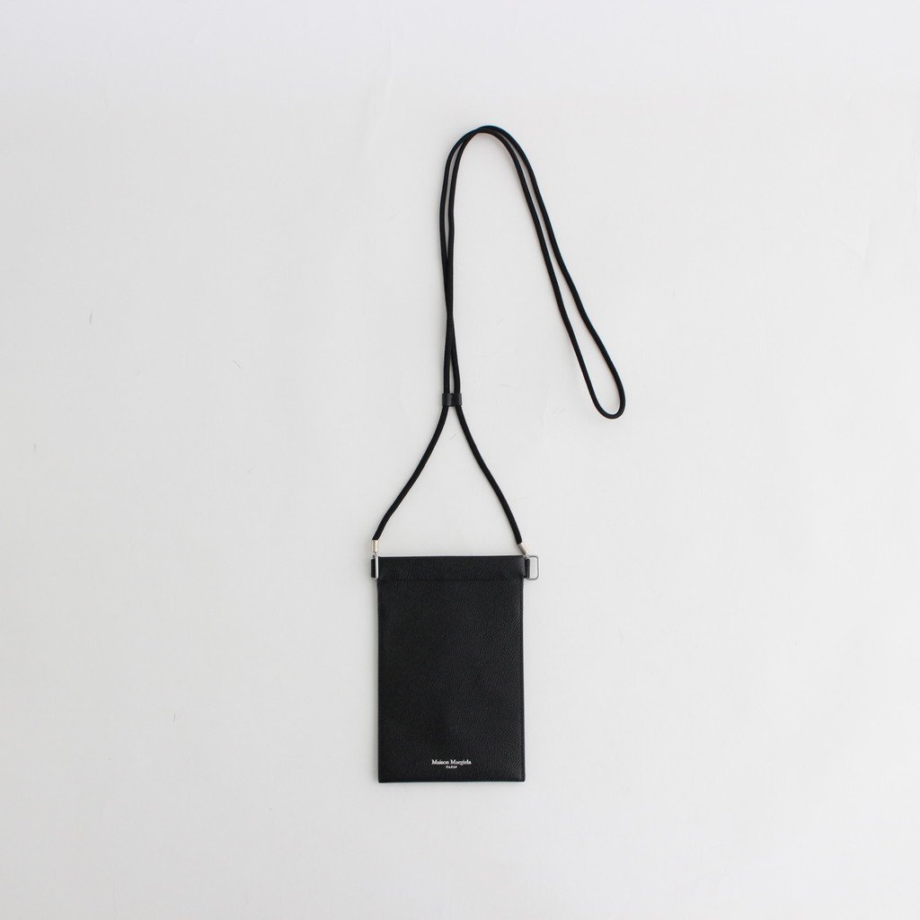Maison Margiela |IPHONE POUCH CASE #BLACK [S55UI0207]