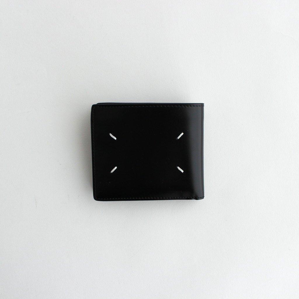 Maison Margiela |VACCHETTA LEATHER WALLET #BLACK [S55UI0205]