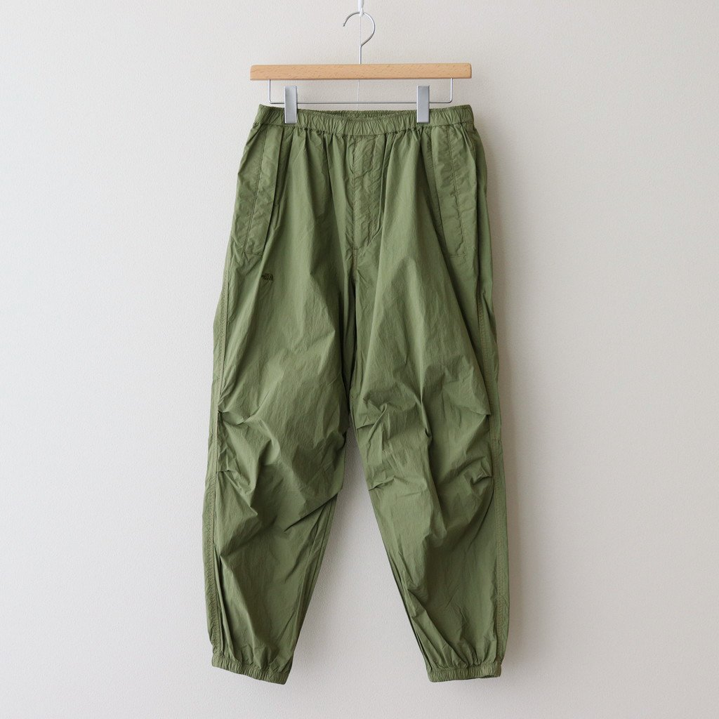 THE NORTH FACE PURPLE LABEL|GARMENT DYE MOUNTAIN WIND PANTS #KHAKI [NP5101N]