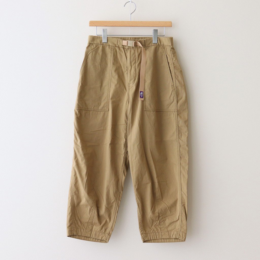 THE NORTH FACE PURPLE LABEL|RIPSTOP WIDE CROPPED PANTS #KHAKI BEIGE [NT5064N]