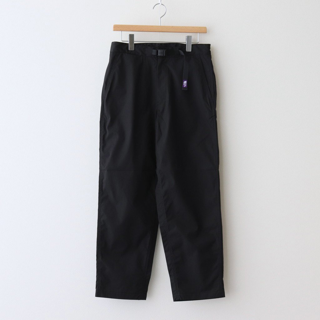 THE NORTH FACE PURPLE LABEL|65/35 HOPPER FIELD PANTS #BLACK [NP5100N]