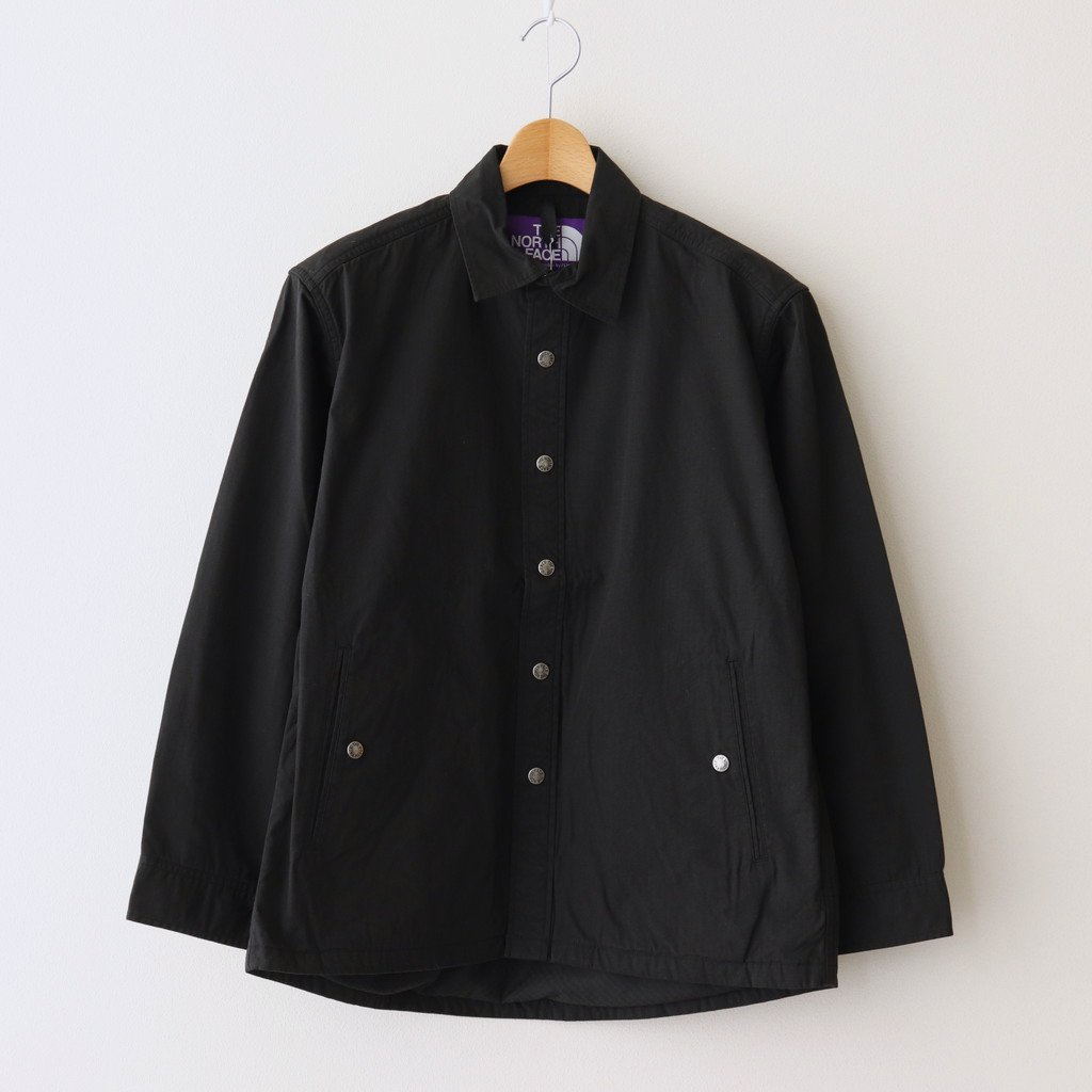 THE NORTH FACE PURPLE LABEL|RIPSTOP SHIRT JACKET #BLACK [NY2104N]