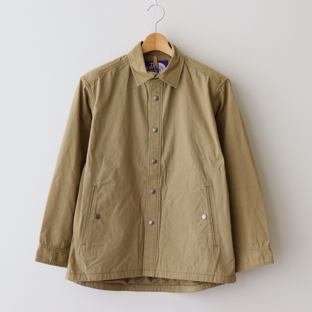 THE NORTH FACE PURPLE LABEL|RIPSTOP SHIRT JACKET #KHAKI BEIGE [NY2104N]
