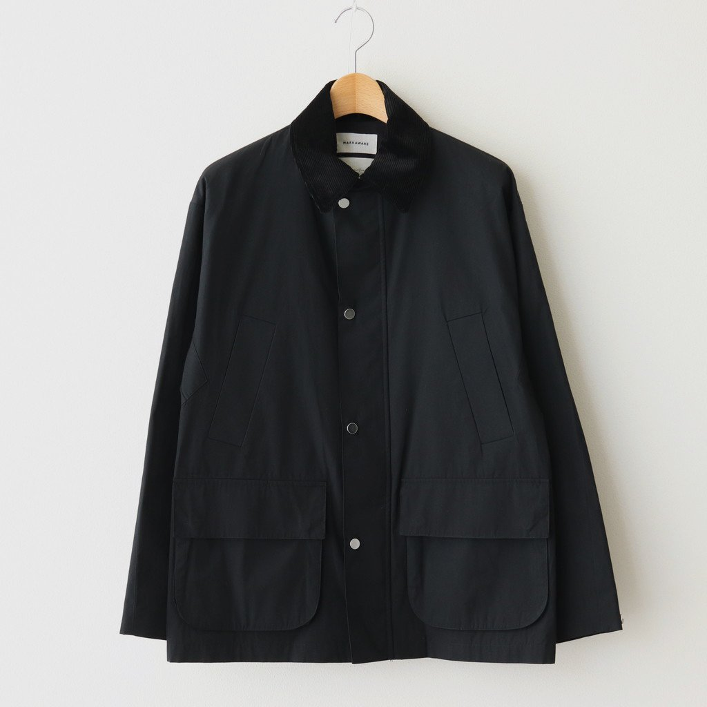 MARKAWARE|WAYFARER COAT II #BLACK [A21A-01CO02C]
