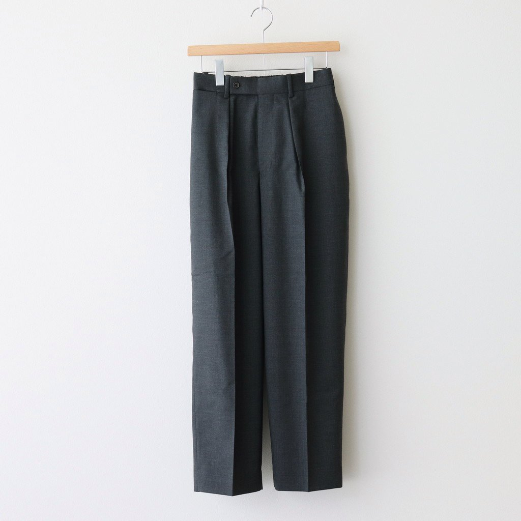 MARKAWARE|CLASSIC FIT TROUSERS #CHARCOAL [A21A-03PT02C]