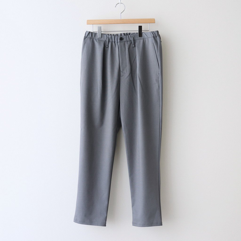CURLY|BLEECKER TP TROUSERS PLAIN #BLUE GRAY [211-43023SD]