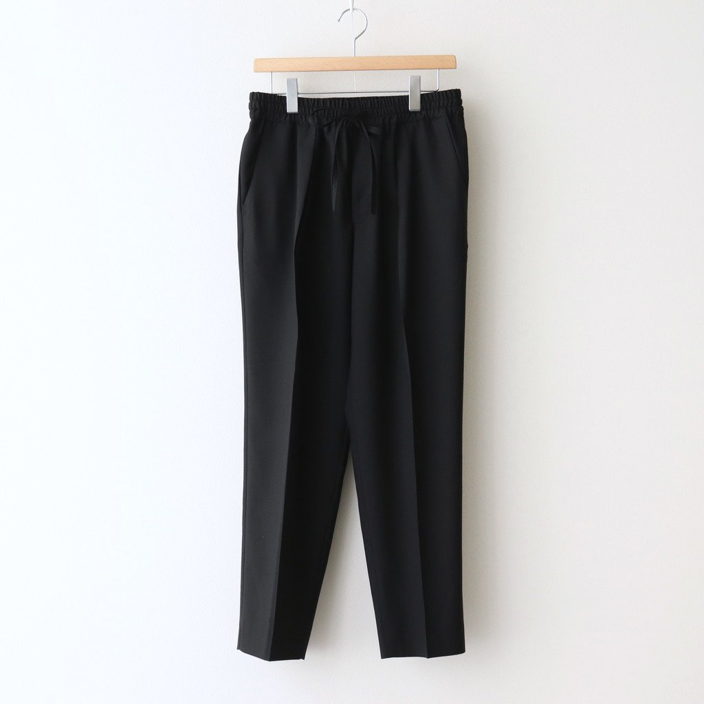 MARKAWARE|PEGTOP EASY TROUSERS #BLACK [A21A-04PT01C]