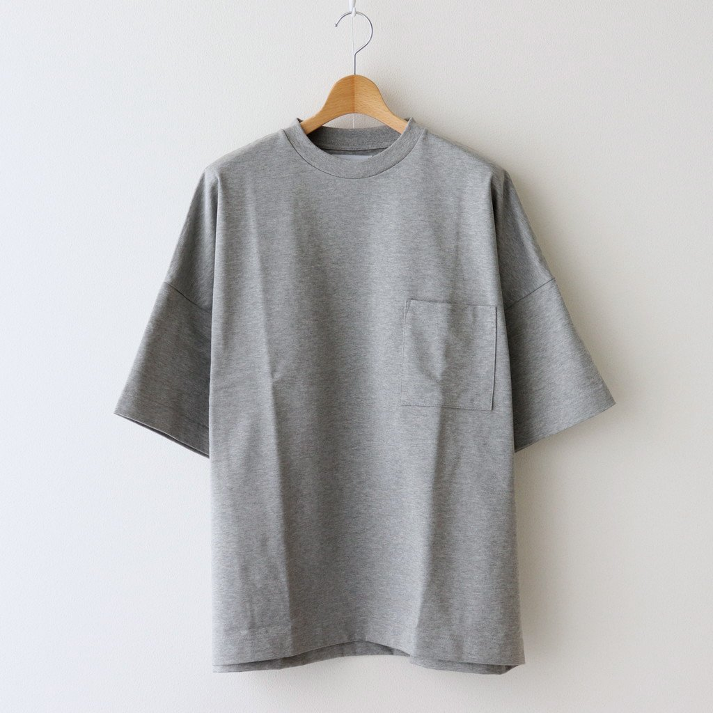 marka|WIDE TEE #TOP GRAY [M21A-16CS02B]