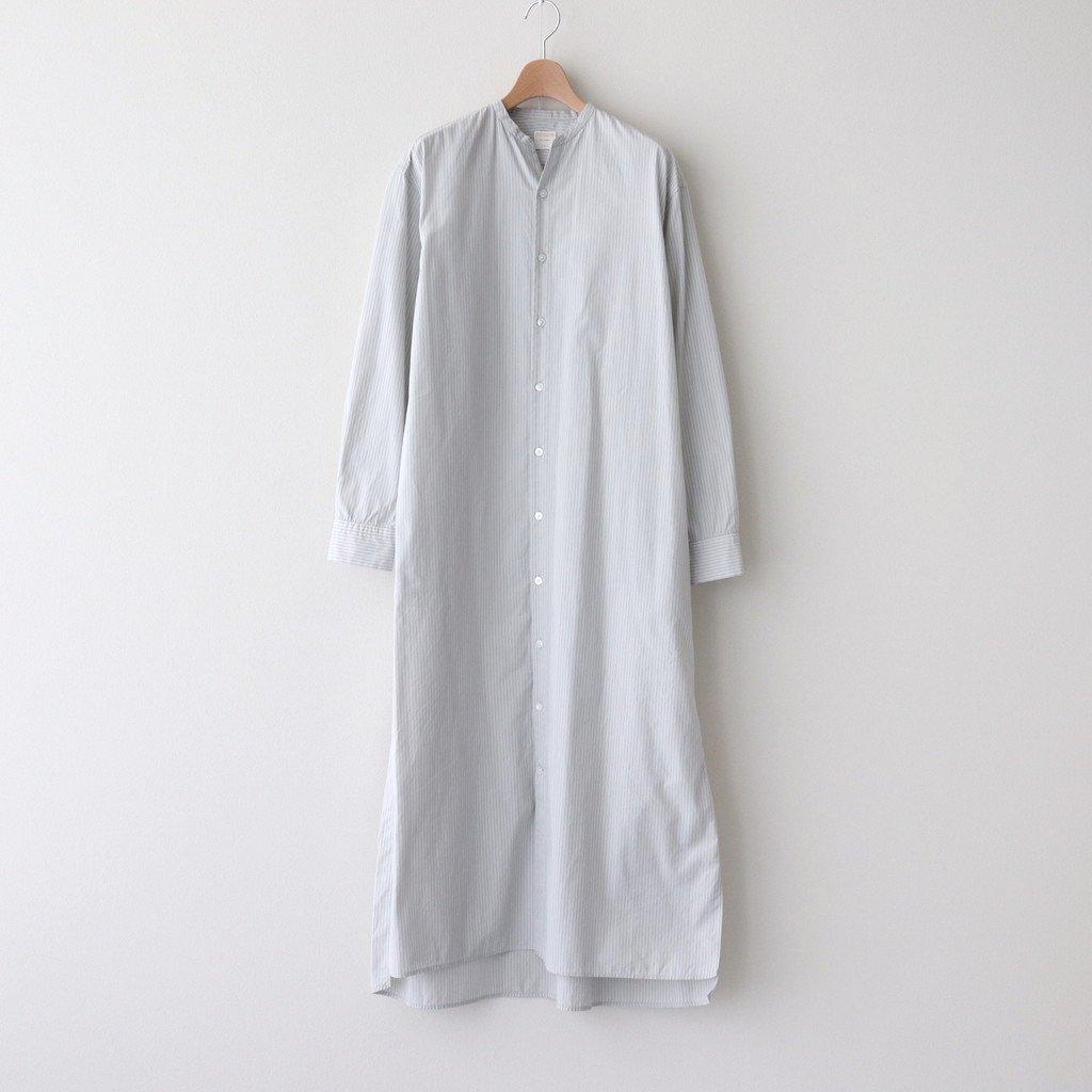 Phlannel|STAND COLLAR SHIRT DRESS | WOMEN #STRIPE [BBZ1011309A0001]