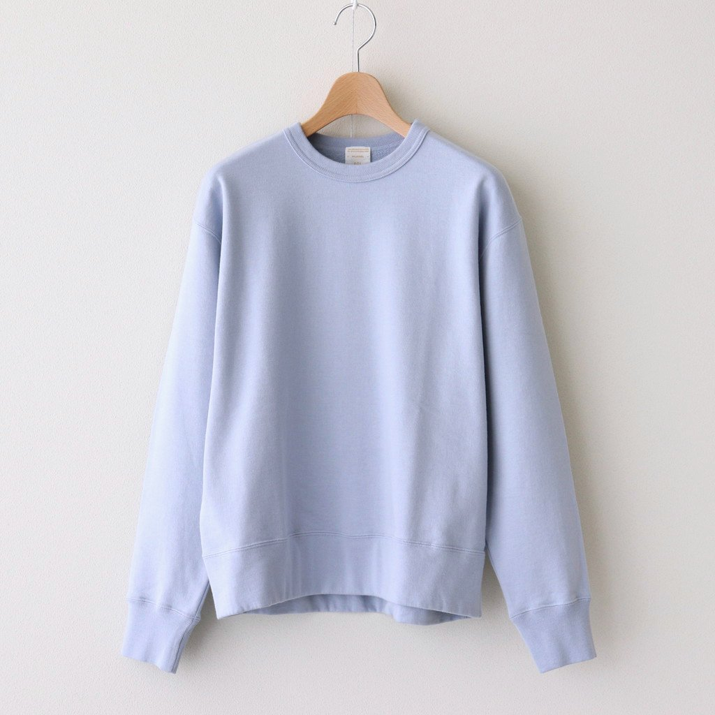 Phlannel|SUVIN COTTON SWEATSHIRT | WOMEN #LT.BLUE [BBZ1011206A0001]