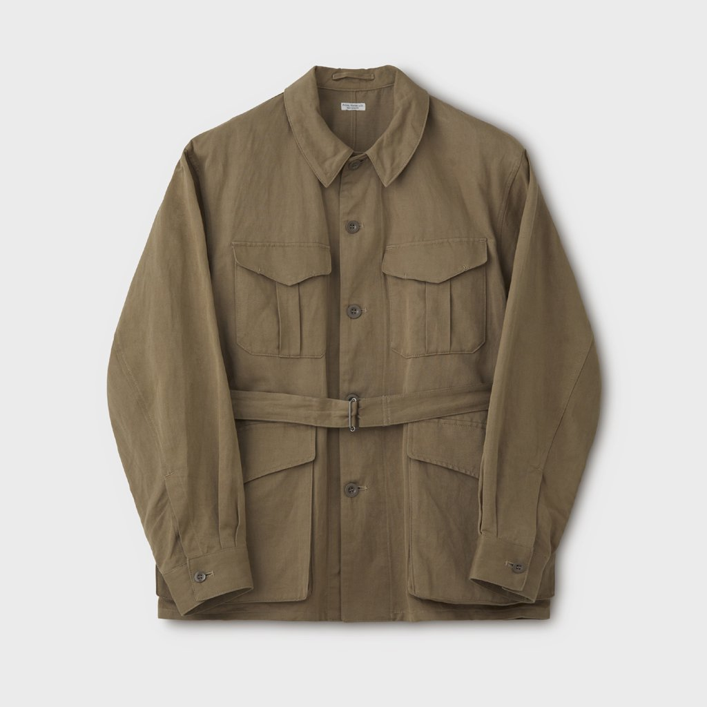 PHIGVEL MAKERS & Co.|C/L TROPICAL JACKET #SAFARI KHAKI [PMAL-OT02]