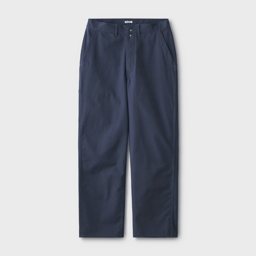 PHIGVEL MAKERS & Co. CANVAS PAINTER TROUSERS #FRENCH NAVY [PMAL-PT02]
