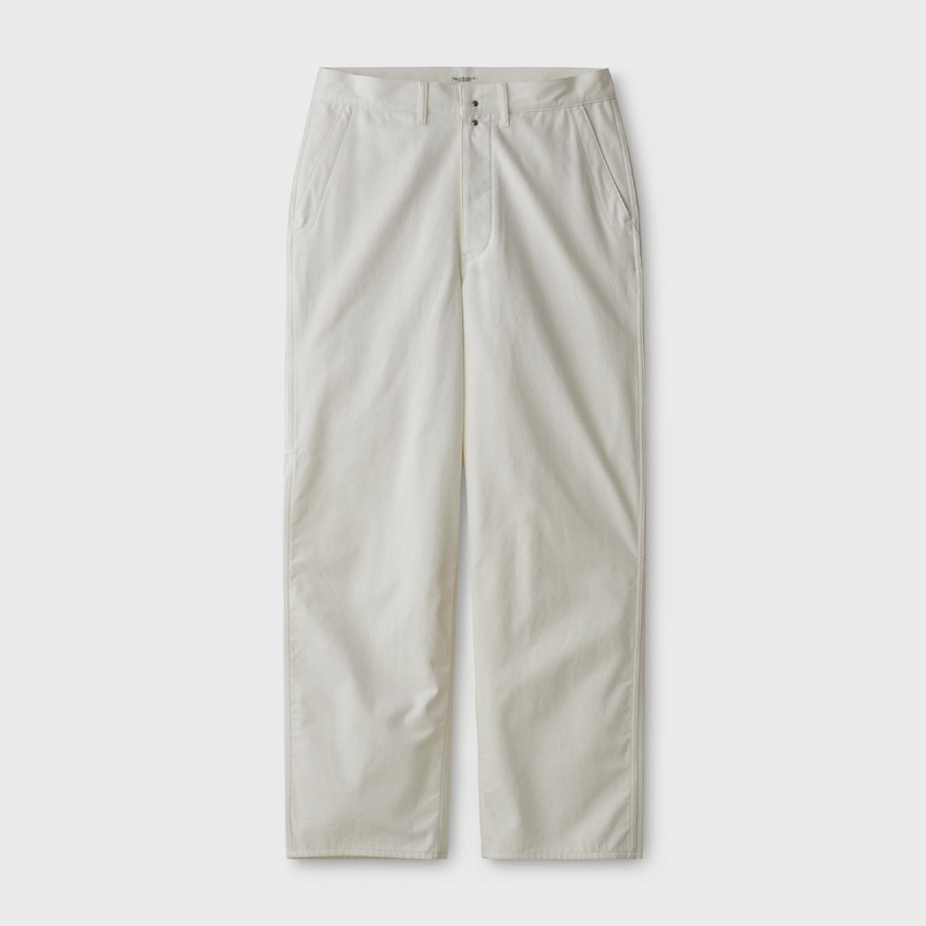 PHIGVEL MAKERS & Co.|CANVAS PAINTER TROUSERS #OFF WHITE [PMAL-PT02]